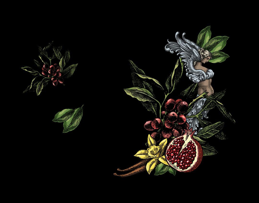 The Lovers Blend Illustration web